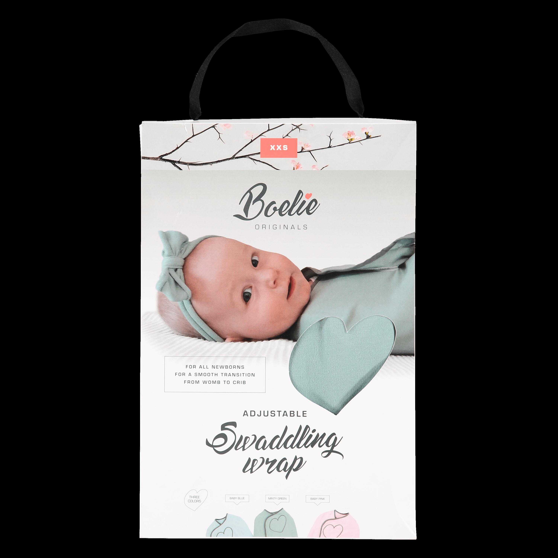 Deze inbakerdoek is officieel gezond voor de heupjes van je baby!